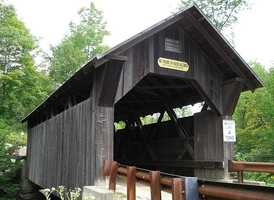 Emily's Bridge in Stowe, Vt., is haunted by the ghost of Emily. Visitors have reported strange noises like footsteps, ropes tightening, and a girl screaming.