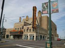 The Orpheum Theatre in Memphis, Tenn., is haunted by the ghost of a small girl who was killed in a car accident in front of the theater.
