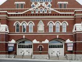 Many believe the Ryman Auditorium in Nashville, Tenn., is haunted. Footsteps have been heard, doors close on their own, and the voice of Hank Williams, Sr. has been heard singing his old songs.