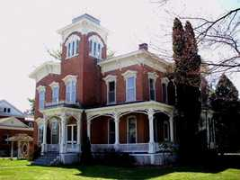 The Farnam Mansion in Oneida, N.Y., is said to be haunted by both human and animal ghosts. At least six known deaths have occurred in the mansion.