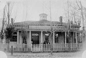 Abraham Curry House in Carson City, Nev., is reportedly occupied by the spirit of its owner, Abraham Curry. It is said he died in 1873 with only $1 in his pocket.