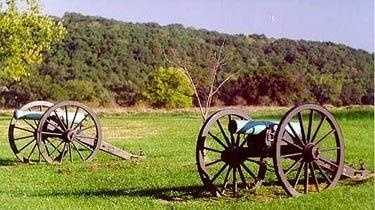 Wilsons Creek National Battlefield in Missouri is the site of a major civil war battle fought in 1861. People have reported the sounds of troop movements, being touched, and seeing apparitions.