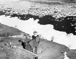 The Big Bay Point Light lighthouse in Michigan is said to be haunted by Will Prior, the ghost of its first keeper.