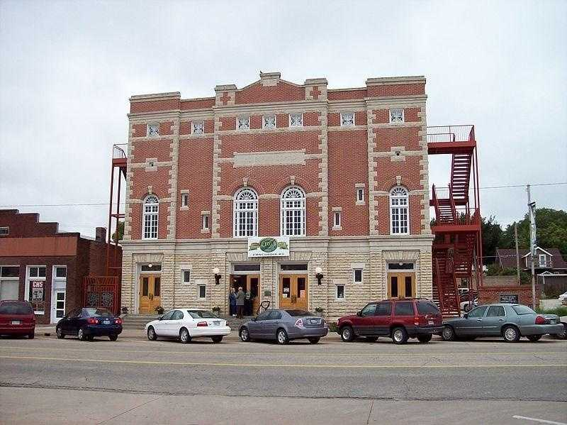 The Brown Grand Theatre in Concordia, Kan., has stories of a ghost that haunts the theatre during the opening season.