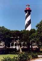 The Saint Augustine Lighthouse in Florida is allegedly haunted by two little girls, a drifter who hung himself in the lighthouse in the 1800s, and a couple of past lighthouse keepers.