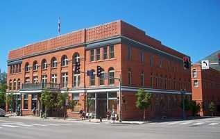 The Hotel Jerome in Aspen, Colo., is supposedly haunted by a young boy who drowned in the hotel pool.