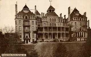 Built in 1886, the Crescent Hotel in Eureka Springs, Ark., has legendary ghost tales like the Lady in the Garden and the Cancer Hospital Nurses.
