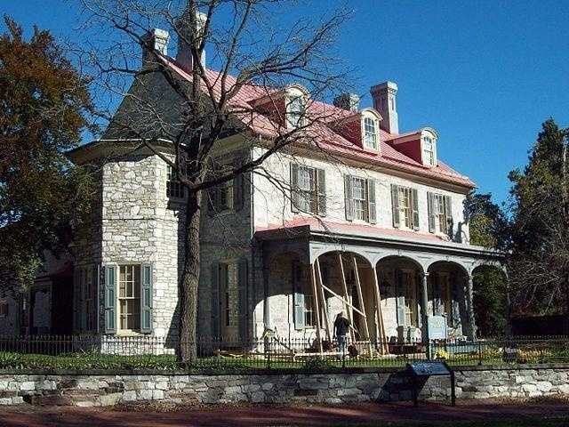 Simon Cameron House, also known as the Harrisburg Mansion, is one of the oldest buildings in Harrisburg and has undergone many renovations since it was first built in 1766.