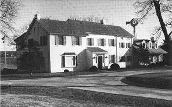 Eisenhower National Historic Site was the home and farm of former U.S. President Dwight D. Eisenhower.