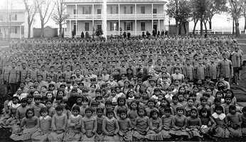 Carlisle Indian Industrial School was an Indian boarding schools in Carlisle from 1879-1918. It was the first off-reservation boarding school.