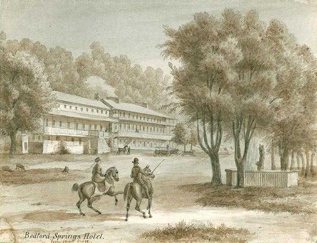 The Bedford Springs Hotel was designated a National Historic Landmark in 1991. The hotel and surrounding property was bought by Omni Hotels in 1998, and was fully restored by 2007.