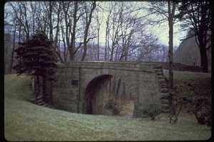 The Allegheny Portage Railroad was the first railroad constructed through the Allegheny Mountains in Central Pa. It was a series of 10 inclines and operated from 1834 to 1854.