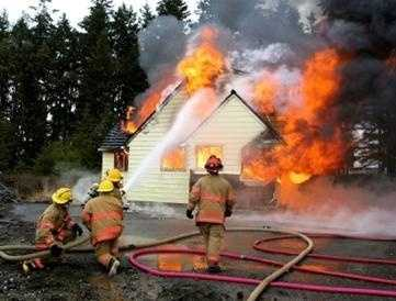 Be sure to stress the importance of planning for two ways out in case one way is blocked by fire.