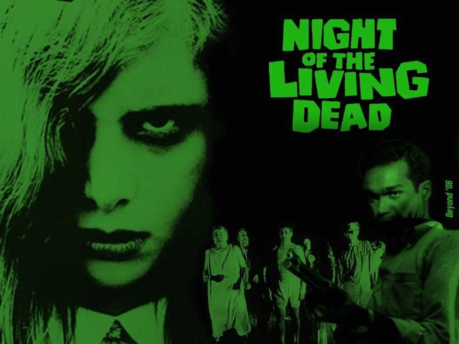 """2. """"Night of the Living Dead"""": This one isn't necessarily scary when it comes to zombies, but it's the film that started the zombie revolution regardless of how outdated it seems to be."""