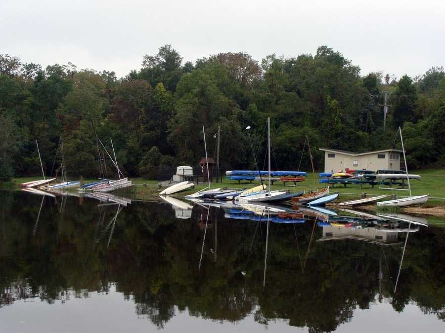 There are 286 shoreline mooring and canoe rack spaces that may be rented from April 1 to Nov. 1.