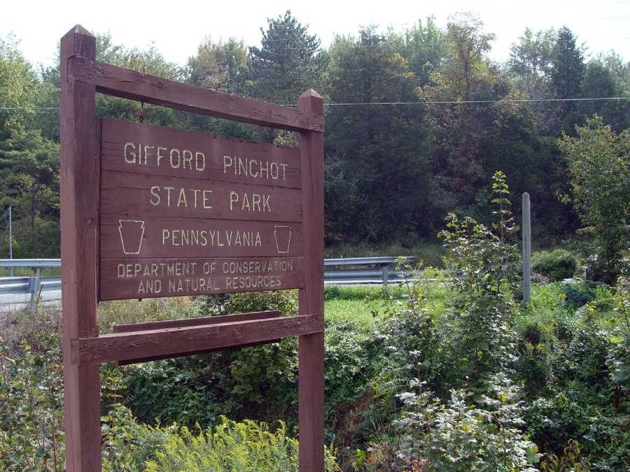 Gifford Pinchot State Park is located in northern York County ...