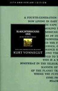 "29. Slaughterhouse-Five by Kurt Vonnegut: Challenged in some places, banned in others, and even burned in a couple of communities because the novel ""contains and makes references to religious matters,"" and contains ""foul language and a section depicting a picture of an act of bestiality."""