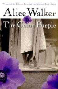 "5. The Color Purple by Alice Walker: Challenged do to the novel's ""sexual and social explicitness"" and its ""troubling ideas about race relations, man's relationship to God, African history, and human sexuality."""