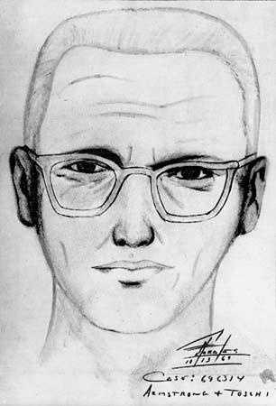3. The Bay Area's Zodiac Killer shot two teens to death in December 1968, and then shot at another couple six months later, leaving one survivor.