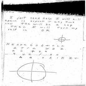 The Zodiac Killer was infamous for taunting police for over a decade with coded letters to San Francisco's newspapers, and the suspect was never captured.