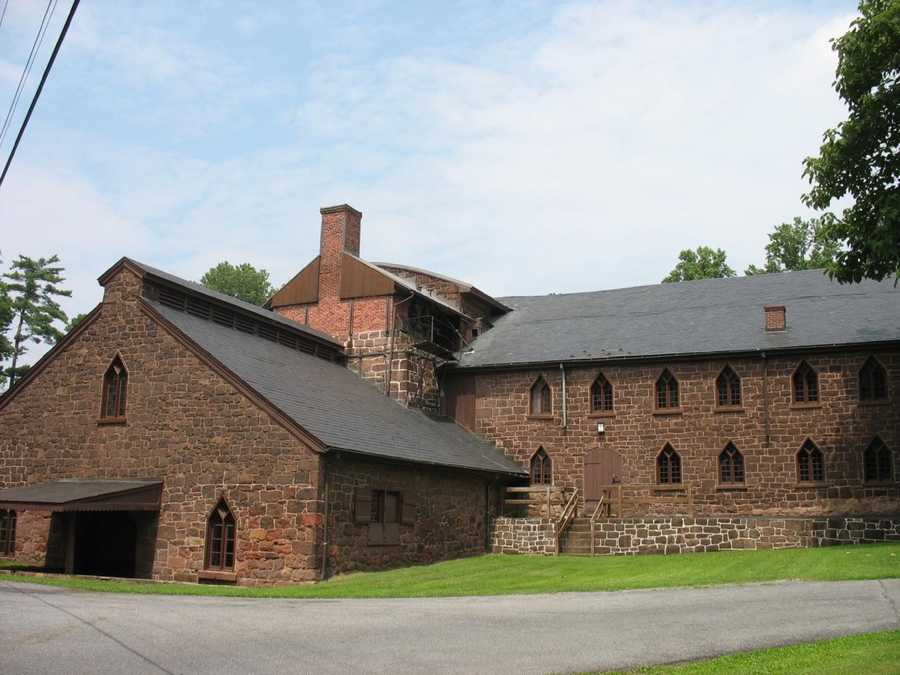 Cornwall Iron Furnace was a leading Pa. iron producer from 1742 until it was shutdown in 1883. It was designated a National Historic Landmark in 1966.