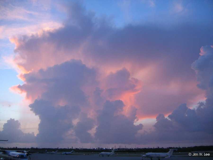 2. Middle clouds (alto)