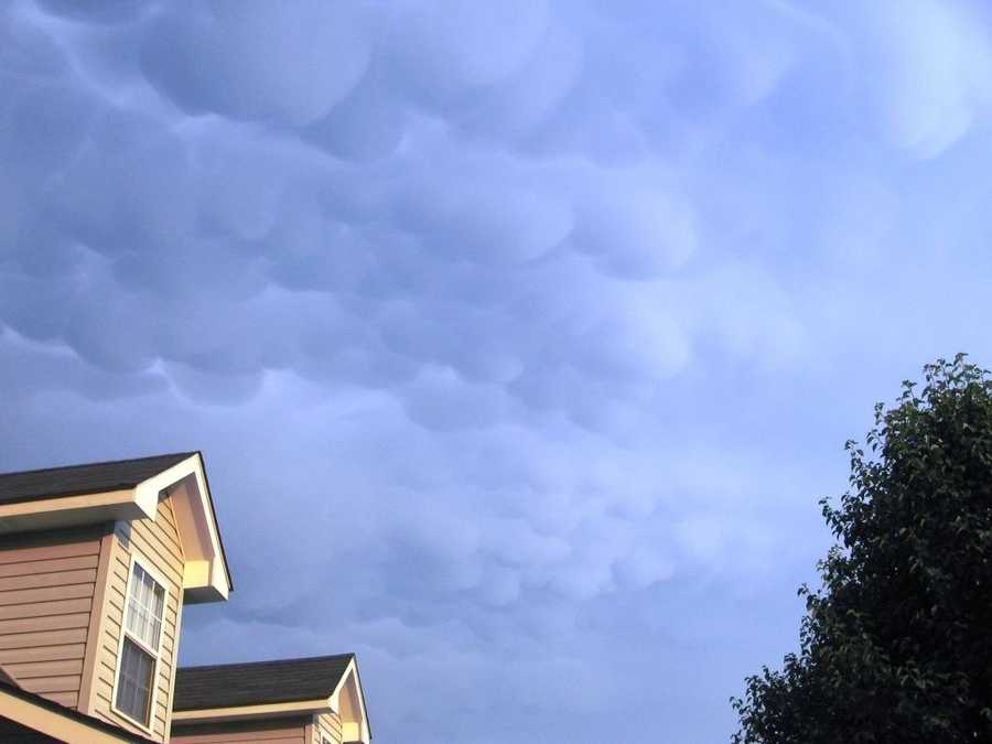 They are usually associated with severe weather.
