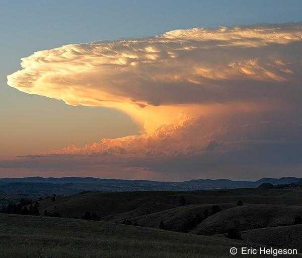 These clouds are associated with heavy rain, snow, hail, lightning, and tornadoes.