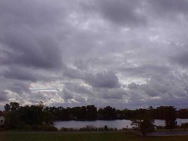 Most form with blue sky visible in between, and rain rarely occurs with these clouds.