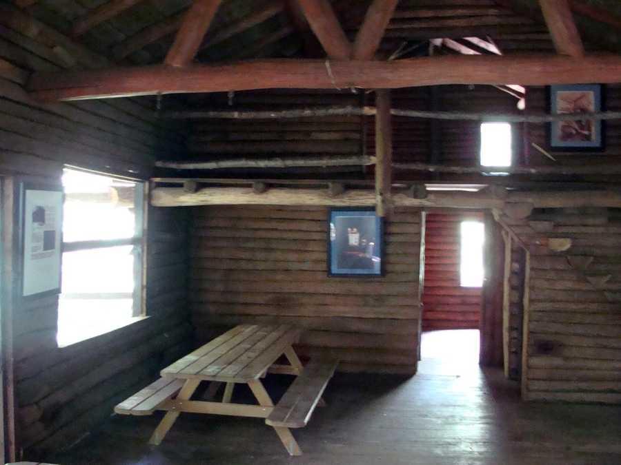 ... a picnic pavilion ...