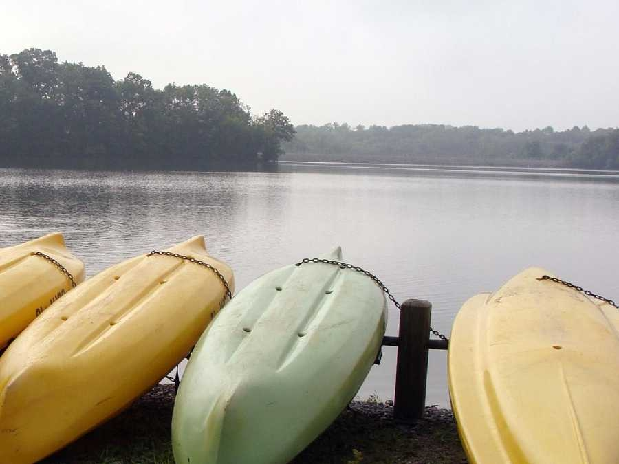 ... and kayaks from Memorial Day weekend through Labor Day.