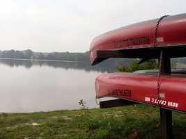 ... canoes ...