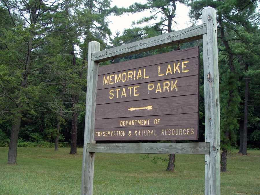 Memorial Lake State Park is located near the base of Blue Mountain in East Hanover Township, Lebanon County.