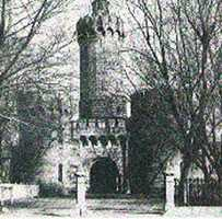 The prison originally had a 110-foot tower at its center. It was dismantled in 1886.