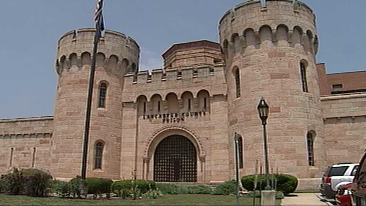 The Lancaster County Prison is on the eastern side of Lancaster City where it was built in 1852. The building was based on the style of a medieval castle.