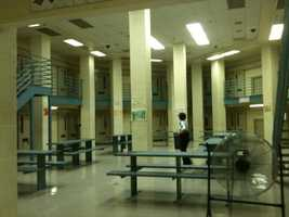 The prison has a 953-bed capacity.