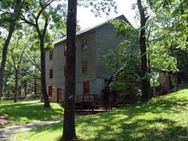 The Shoaff's Mill was constructed in the mid-1830s by John McKeehan and James McGowan.
