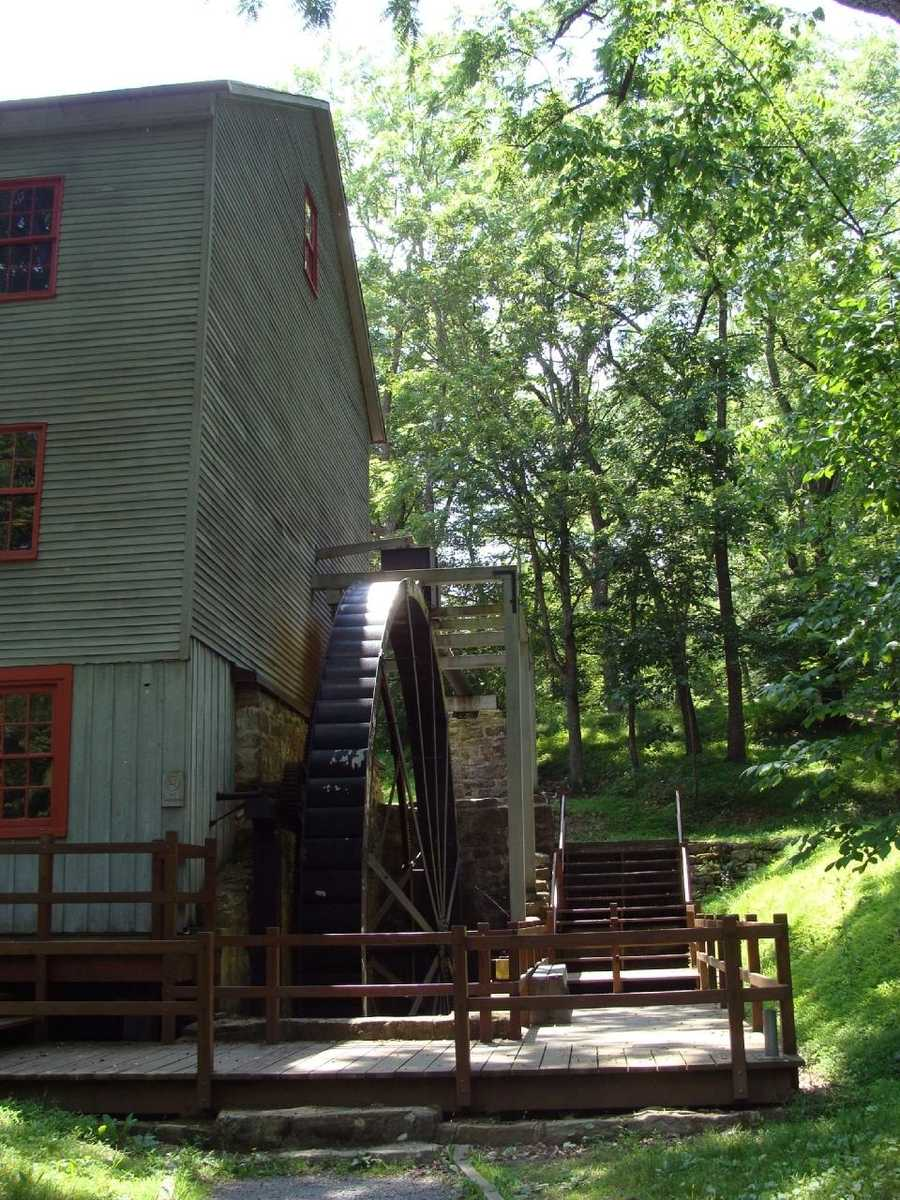 In 1849, the mill was sold to William H. Shoaff, and he began extensive improvements. Until the 1940s, the Shoaff Family operated the mill at full capacity, grinding wheat and buckwheat flours, cornmeal and feed for livestock.