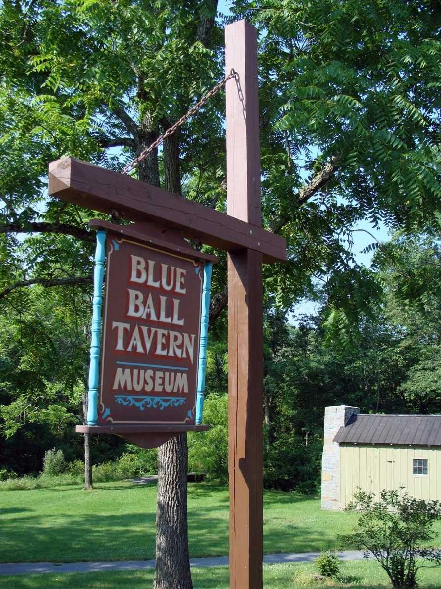 The Historical Society of Perry County operates the Blue Ball Tavern Museum, which is located across from the park office.