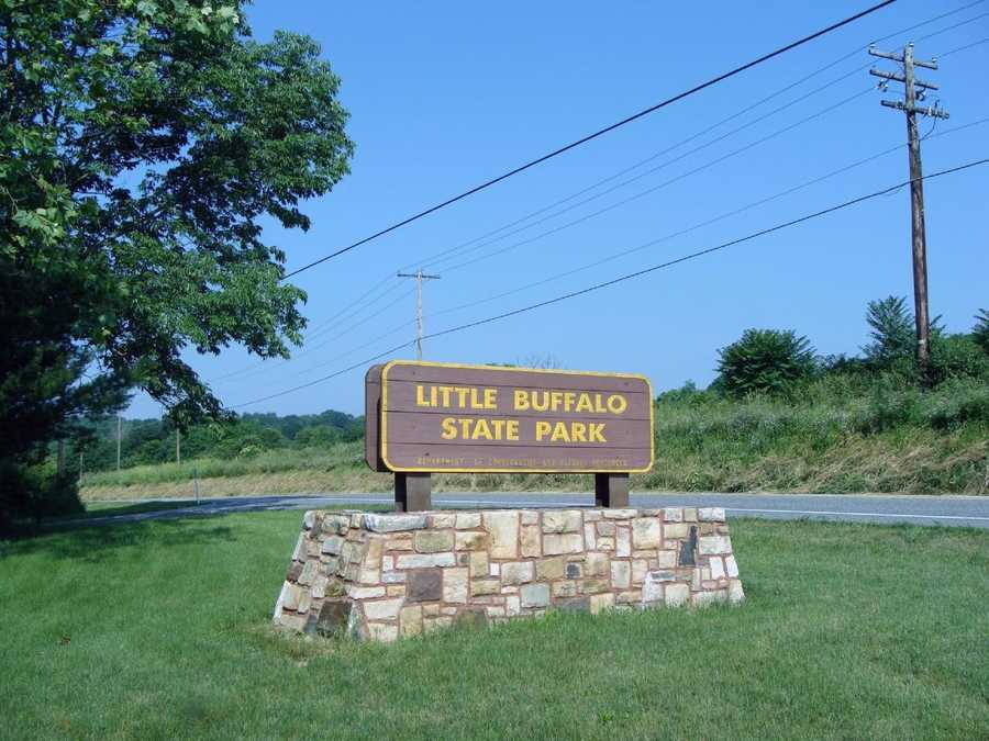 Thousands of people meet at Little Buffalo State Park to enjoy nature and history, fish, hike, picnic and swim.