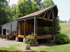 An entertainment pavilion is located in the east picnic area near the Little Buffalo Historic District.