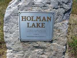 In June 1989, state officials named the lake after state Rep. Allan W. Holman Jr.