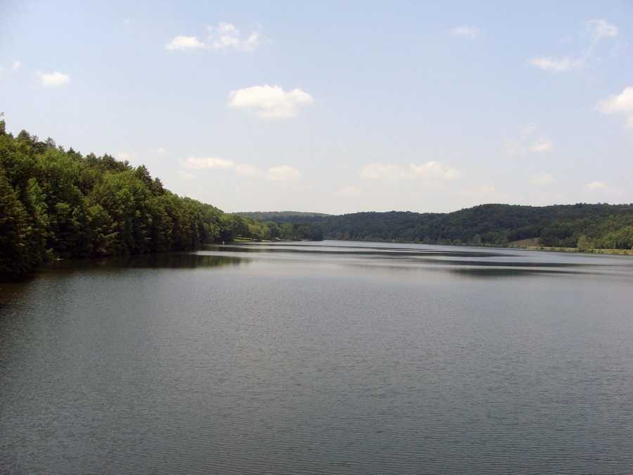 Holman Lake is part of Little Buffalo State Park in Perry County.