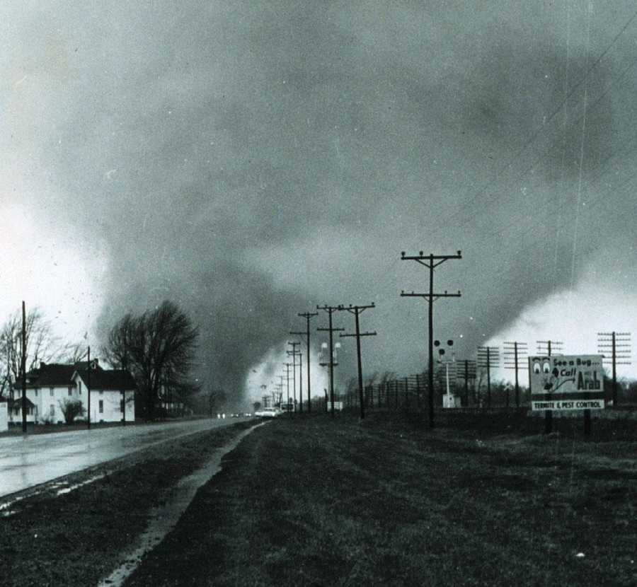 7. 1920 (499 deaths): The Palm Sunday tornado outbreak of 1920 consisted of at least 38 significant tornadoes across the Midwest and Deep South. They left over 380 people dead, most of who lived in Georgia, Indiana, and Ohio.