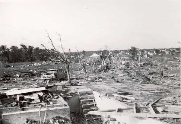 6. 1953 (519 deaths): The Flint-Worcester Tornadoes are among the deadliest in the U.S. One occurred in Flint, Michigan on June 8, the other in Worcester, Massachusetts on June 9. They were caused by the same storm system that moved eastward across the nation, and accounted for approximately 243 deaths.