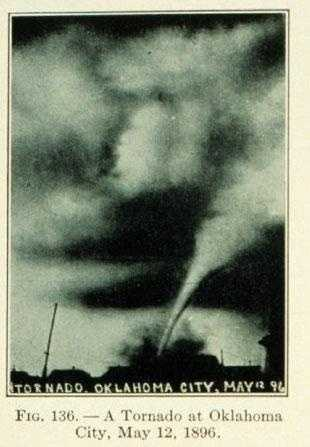 5. 1896 (537 deaths): The tornado outbreak in May of 1896 struck much of the Central and Southern United States from May 15 to May 27. It is responsible for the majority of tornado-related deaths in 1896 -- 484 people were killed by at least 20 different tornadoes in nine different states (Texas, Oklahoma, Kansas, Nebraska, Illinois, Missouri, Iowa, Kentucky, and Michigan).