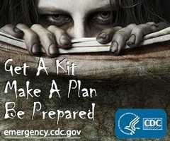 Are you ready for a zombie apocalypse? That's right, z-o-m-b-i-e a-p-o-c-a-l-y-p-s-e. It may sound crazy, but the Centers for Disease Control and Prevention (CDC) wants to make sure you're prepared for that or any other disaster.
