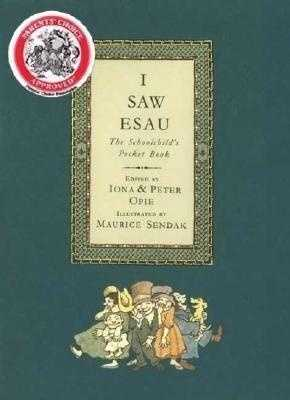 """98. I Saw Esau by Iona Opte: Challenged because the book of poetry included illustrations that were """"offensive."""""""