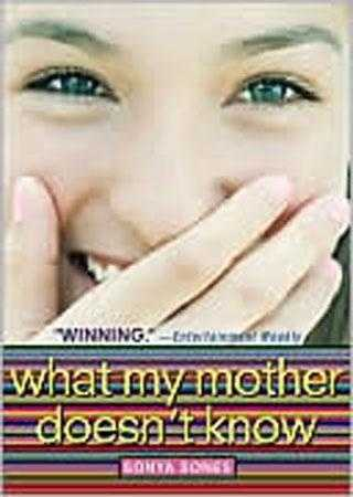 31. What My Mother Doesn't Know by Sonya Sones: Challenged because of foul language and references to masturbation.