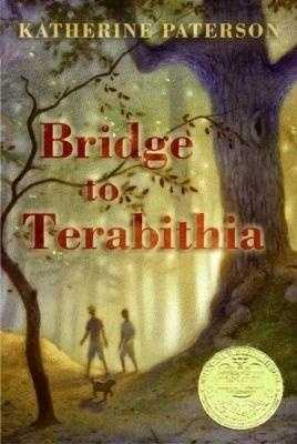 """28. Bridge To Terabithia by Katherine Paterson: Challenged or banned because of death being a part of the plot, the frequent use of the word """"lord"""" outside of prayer, and for the use of offensive language."""